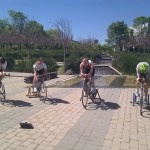 outdoor indoor cycling