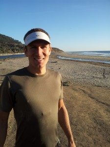 Theo finishes his epic run to the Pacific Ocean