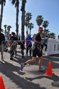 Right athlete- wrong race.   Rob at Oceanside 70.3 (pretend it's Mexico)