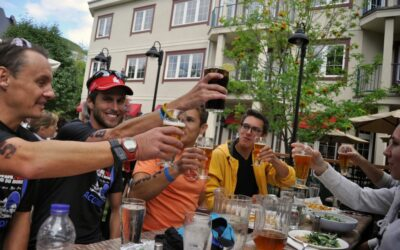 Oui! Oui!  TriForcers Race 70.3 World Championships in Mont Tremblant (10 qualifiers, 5 racers)