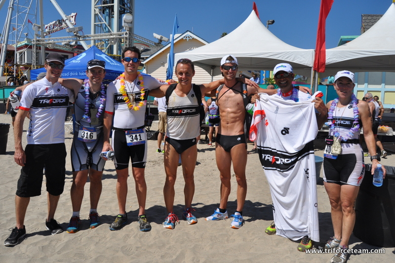 12 TriForcers at the Big Kahuna Half– everyone podiumed or PRd!