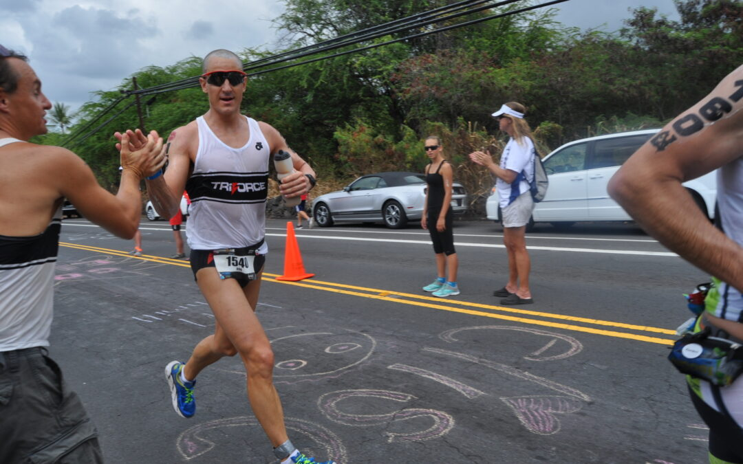 2014 Highlight: TF at Kona World Championship (4 qualifiers, 3 racers)