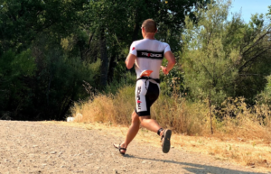 tempo brick run for Ironman training
